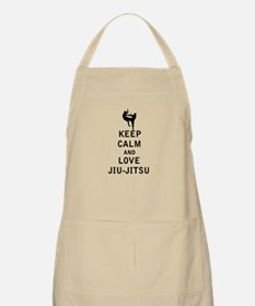 Keep Calm and Love Jiu Jitsu Apron