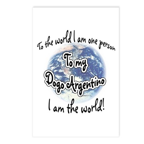 Dogo World2 Postcards (Package of 8)