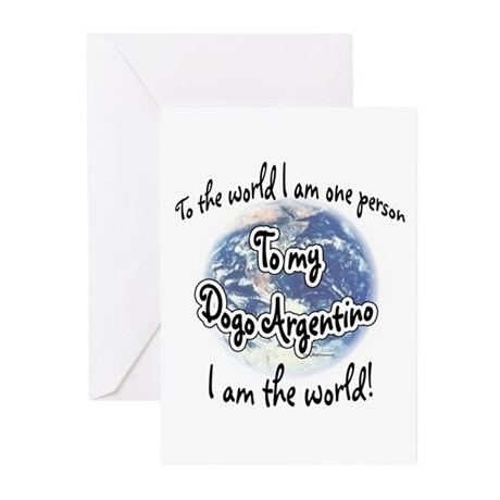 Dogo World2 Greeting Cards (Pk of 10)