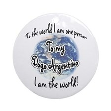 Dogo World2 Ornament (Round)