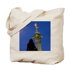 Colonne de Juillet topped by the statue o Tote Bag