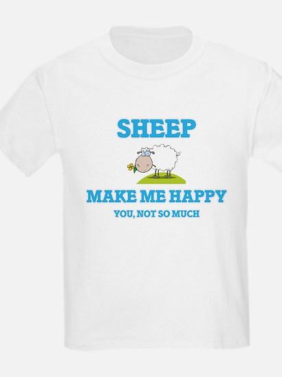 Sheep Make Me Happy T-Shirt