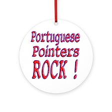 Portuguese Pointers Ornament (Round)