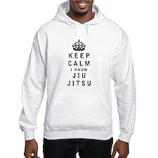 Keep Calm I Know Jiu-Jitsu Hoodie