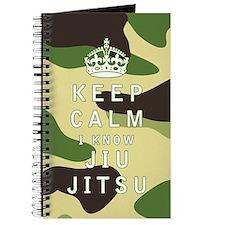 Keep Calm I Know Jiu-Jitsu Journal