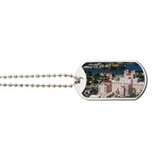 Aerial view of the Don Cesar Resort, Flor Dog Tags