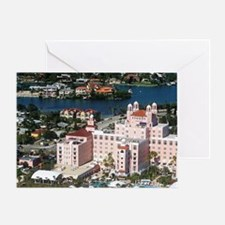 Aerial view of the Don Cesar Resort, Greeting Card