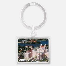 Aerial view of the Don Cesar Re Landscape Keychain