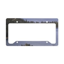 Fanette Island & Tahoe Queen  License Plate Holder