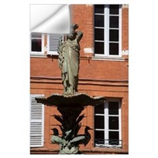 Place Roger Salengro, Toulouse, Haute Garonne, Mid Wall Decal