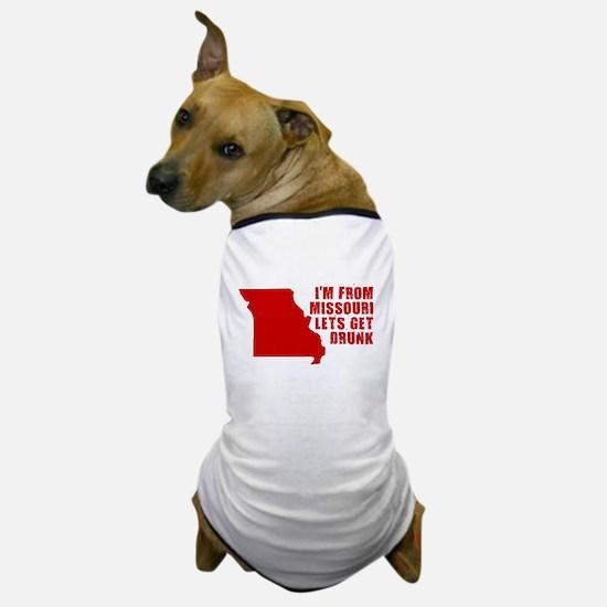 MISSOURI SHIRT FUNNY MISSOURT Dog T-Shirt