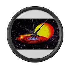 neuton star Large Wall Clock
