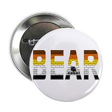 BEAR-BRICK LOOK-PRIDE COLORS Button