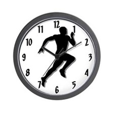 The Runner Wall Clock
