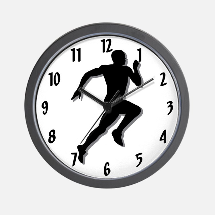 The Runner Wall Clock
