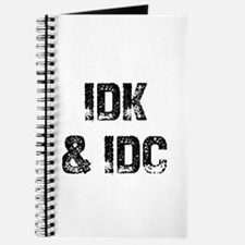 IDK & IDC Journal