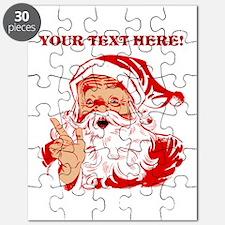 Personalize Santa Claus Puzzle