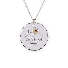 Proud Nana Necklace Circle Charm