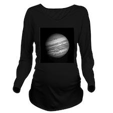 Cute Astronomy Long Sleeve Maternity T-Shirt