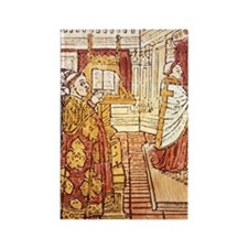 1489 woodcut. FRANCEcharist. From Rectangle Magnet
