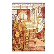 1489 woodcut. FRANCEchari Postcards (Package of 8)