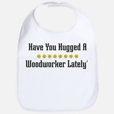 Hugged Woodworker Bib