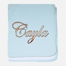 Funny Cayla baby blanket