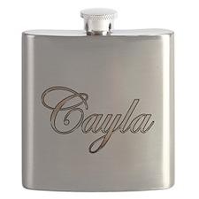 Funny Cayla Flask