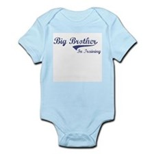 Unique Big brother train Infant Bodysuit