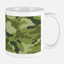 Green Camo Pattern Small Small Mug