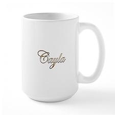 Gold Cayla Mugs