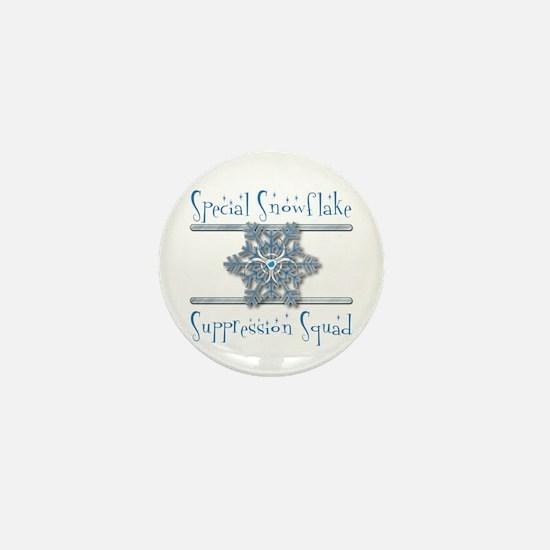 Special Snowflake Suppression Squad Mini Button