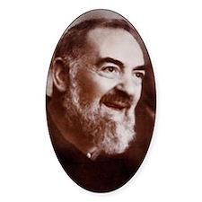 Padre Pio Decal