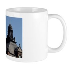 Finland, Helsinki. View of sturdy build Mug