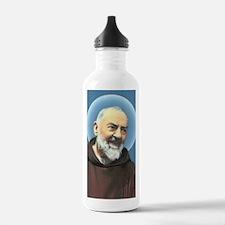 Padre Pio Water Bottle