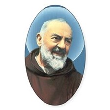 Padre Pio Decal