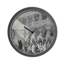 Belshazzar's Feast by Gustave Dore, 19t Wall Clock