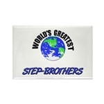 World's Greatest STEP-BROTHERS Rectangle Magnet (1