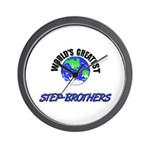 World's Greatest STEP-BROTHERS Wall Clock