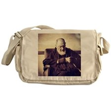 Padre Pio Messenger Bag