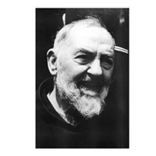Padre Pio Postcards (Package of 8)