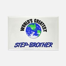 World's Greatest STEP-BROTHER Rectangle Magnet