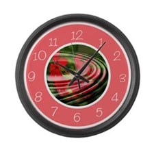 Cool Country kitchen Large Wall Clock