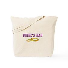 Bride's Dad (rings) Tote Bag