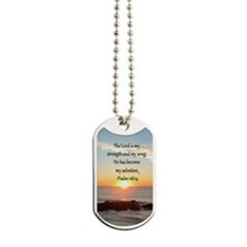 PSALM 118:14 Dog Tags