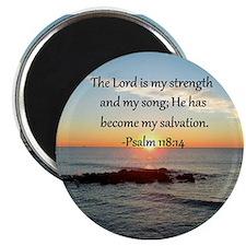 PSALM 118:14 Magnet
