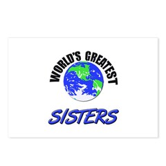 World's Greatest SISTERS Postcards (Package of 8)