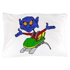 Alien no handed coaster Pillow Case