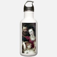 Holy family, Painting  Water Bottle
