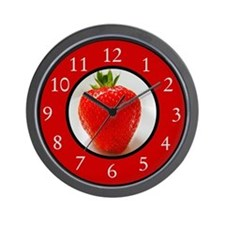 Cute Beverages Wall Clock